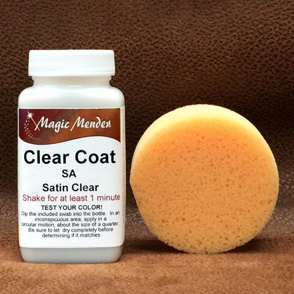 Clear Coat leather finish available in four finishes