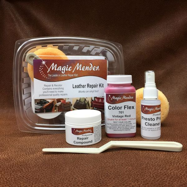 Magic Mender leather repair kit