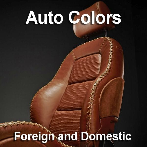 Click to go to our Auto color charts