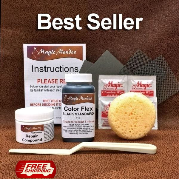 Click to go to our leather repair kit