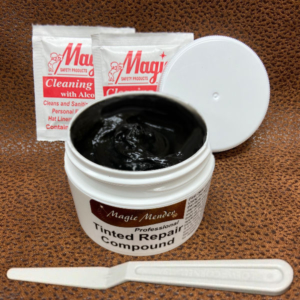 Tinted repair compound